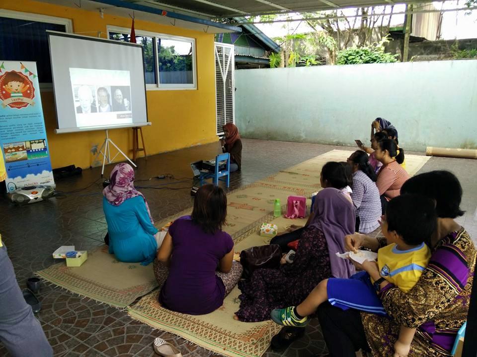 Presentasi Kesulitan Belajar Kepada Orang Tua Siswa Siswi